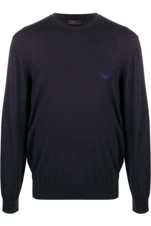 Prada Logo knitted jumper