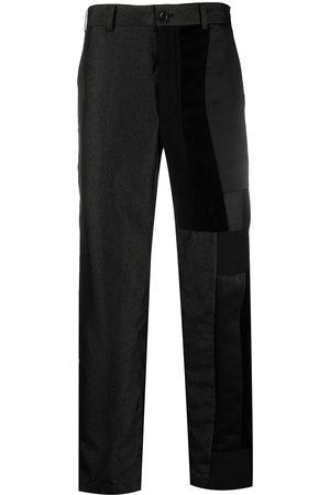 Comme des Garçons Patchwork straight-leg trousers