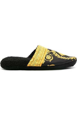 VERSACE Medusa print slippers