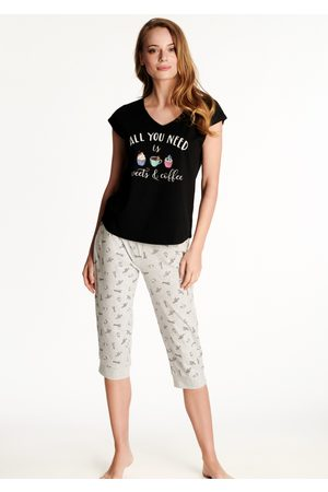 Henderson Ženy Tepláky na spaní - Dámské pyžamo 38262 L