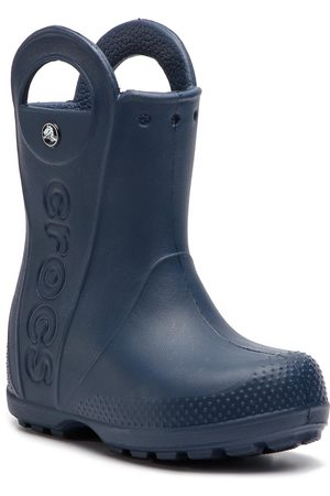 Crocs Holínky - Handle It Rain Boot Kids 12803 Navy