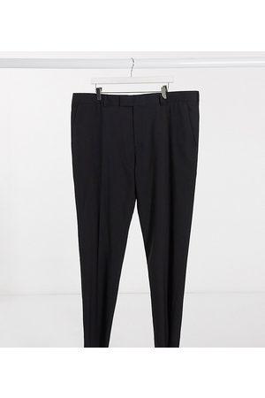 ASOS Plus skinny suit trouser in black
