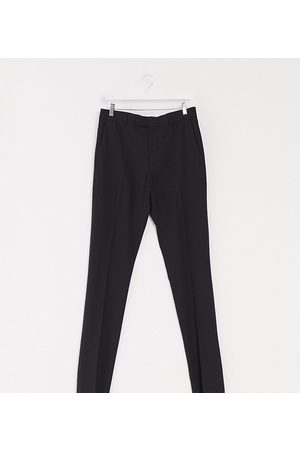 ASOS Tall skinny suit trouser in black