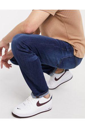 River Island Muži Slim - Slim jeans in dark blue