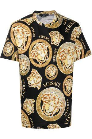 VERSACE Medusa Amplified-print T-shirt