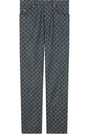 Gucci GG denim trousers