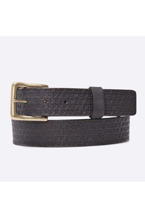Pepe Jeans Pánský černý pásek
