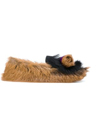 Prada Furry slippers