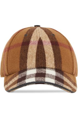 Burberry Check-print baseball cap
