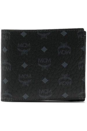 MCM Visetos-print bifold wallet