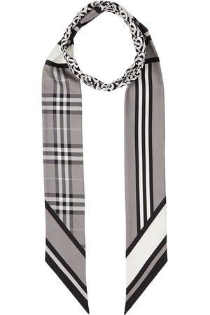 Burberry Multi-pattern thin scarf