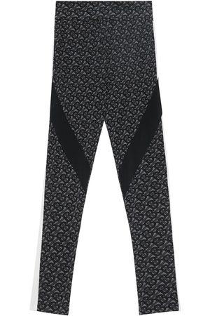 Burberry Monogram-print performance leggings