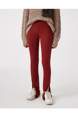 Pull&Bear Soft touch legging co-ord in rust-Tan
