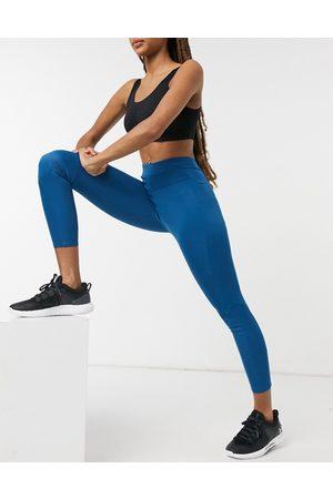 BLFD Panelled leggings in digital teal-Blue
