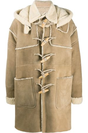 Dsquared2 Shearling-lined duffle coat
