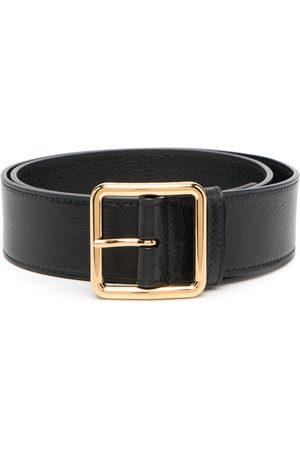 Alexander McQueen Buckle-fastening leather belt