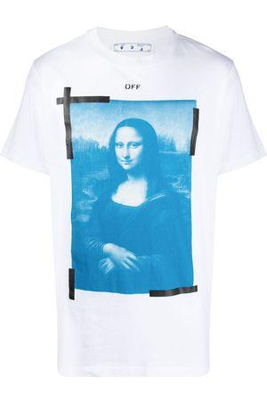 OFF-WHITE Mona Lisa graphic print T-shirt