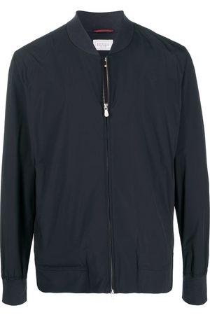 Brunello Cucinelli Zip-up bomber jacket