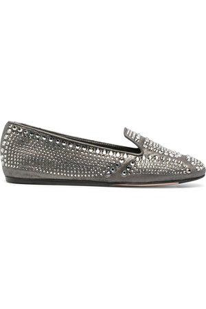LE SILLA Dixie crystal-embellished slipper
