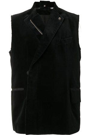 Takahiromiyashita The Soloist Velvet sleeveless vest
