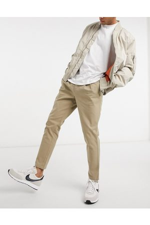 ASOS Cigarette fit chinos in beige