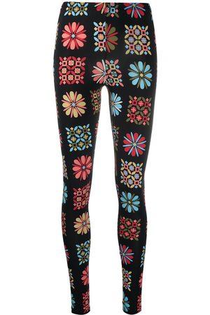 La DoubleJ Ženy Legíny - Floral stretch leggings
