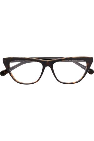 Stella McCartney Falabella chain trim glasses