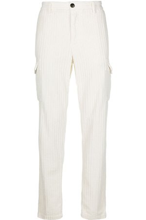 ELEVENTY Corduroy trousers with patch pocket detail