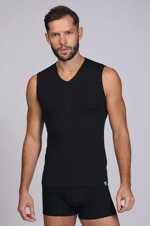 Enrico coveri Černé tričko bez rukávů