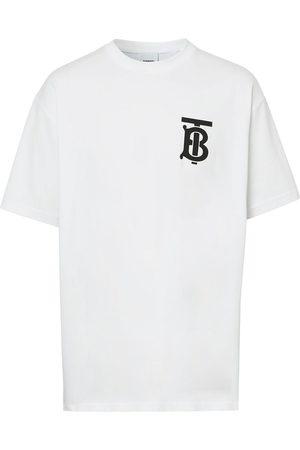Burberry Oversized monogram motif T-shirt