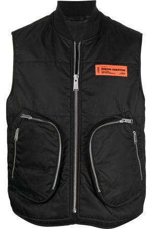 Heron Preston Padded zip-pocket waistcoat