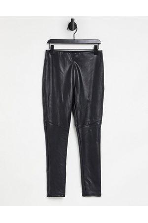 Pimkie Faux leather legging in black