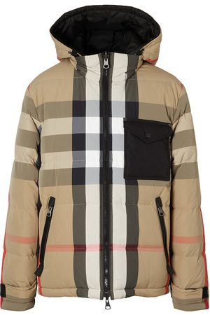 Burberry Reversible hooded padded jacket