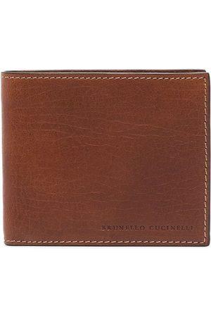 Brunello Cucinelli Brown leather wallet