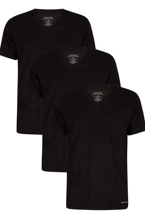 Calvin Klein Pánské tričko NB4012 3 PACK L