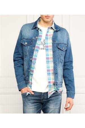 Pepe Jeans Muži Džínové bundy - Pánská džínová bunda Pinner