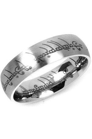 Silvego Muži Prstýnky - Ocelový prsten moci z filmu Pán prstenů RRC2010 49 mm