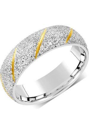 Silvego Snubní prsten pro muže i ženy z oceli RRC22799 53 mm