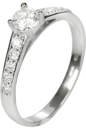 Brilio Dámský prsten s krystaly 229 001 00668 07 49 mm