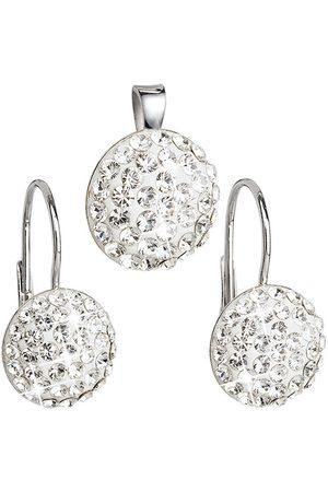 Evolution Sada šperků s krystaly Swarovski 39086.1 (náušnice, přívěsek)