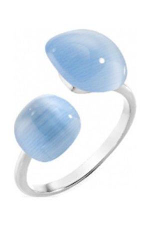 Morellato Stříbrný prsten zdobený kočičím okem Gemma SAKK16 52 mm