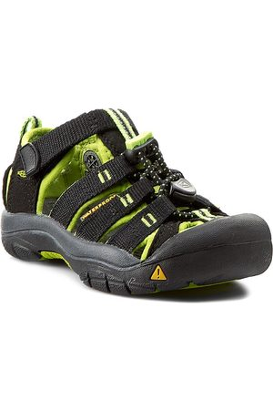 Keen Chlapci Sandály - Sandály - Newport H2 1009942 Black/Lime Green