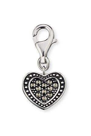 Engelsrufer Stříbrný přívěšek Srdce s markazity ERC-HEART-MA ER0101