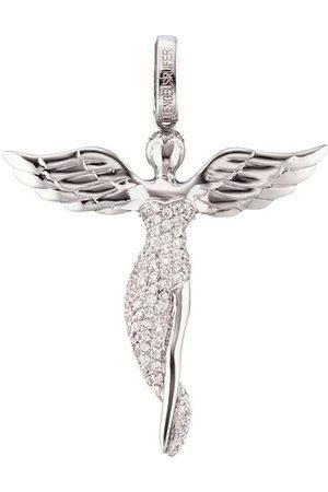 Engelsrufer Stříbrný přívěsek Anděl se zirkony ERP-ANGEL 2,6 cm ER0221
