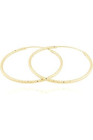 JVD Pozlacené stříbrné náušnice kruhy SVLE0216XD5GO 1,6 cm