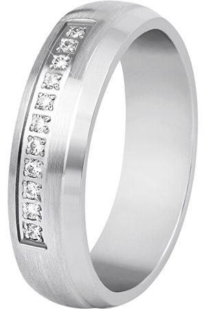 Beneto Dámský snubní prsten z oceli SPD03 49 mm