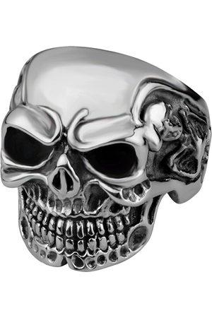 Troli Stylový pánský prsten s lebkou 62 mm