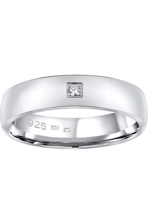 Silvego Snubní stříbrný prsten Poesia pro ženy QRG4104W 48 mm
