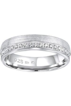 Silvego Snubní stříbrný prsten Paradise pro ženy QRGN23W 47 mm