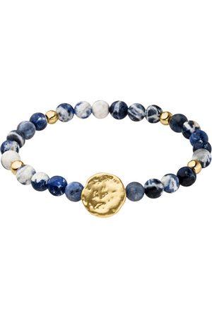 Tamaris Ženy Náramky - Pozlacený náramek Kate s modrými perlami TF071